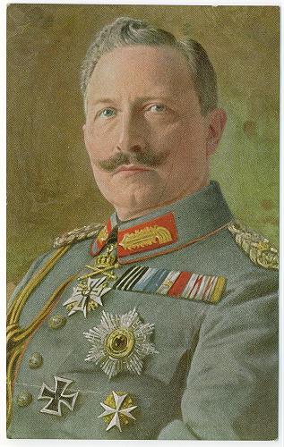 Kaiser Wilhelm II. im 1.